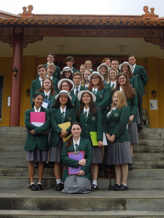 Year 11/12 Chinese and Ancient History students have a Spiritual Day