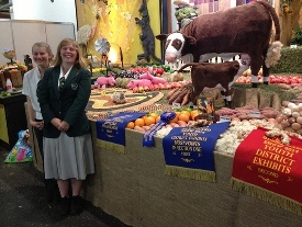 AGRICULTURAL DEPARTMENT WINNINGS AT EKKA 2014