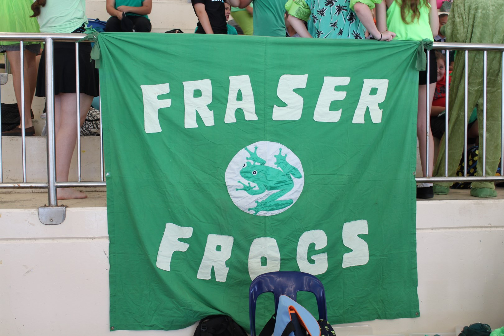 Fraser Frogs tried to rule the pool