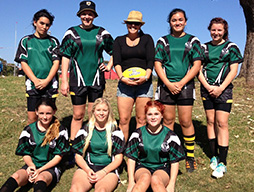 Rugby League Girls Rewarded for their Efforts