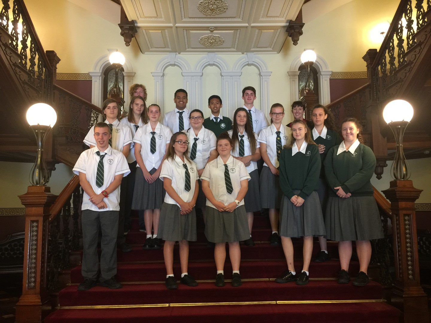 Justice Studies students visit Parliament House