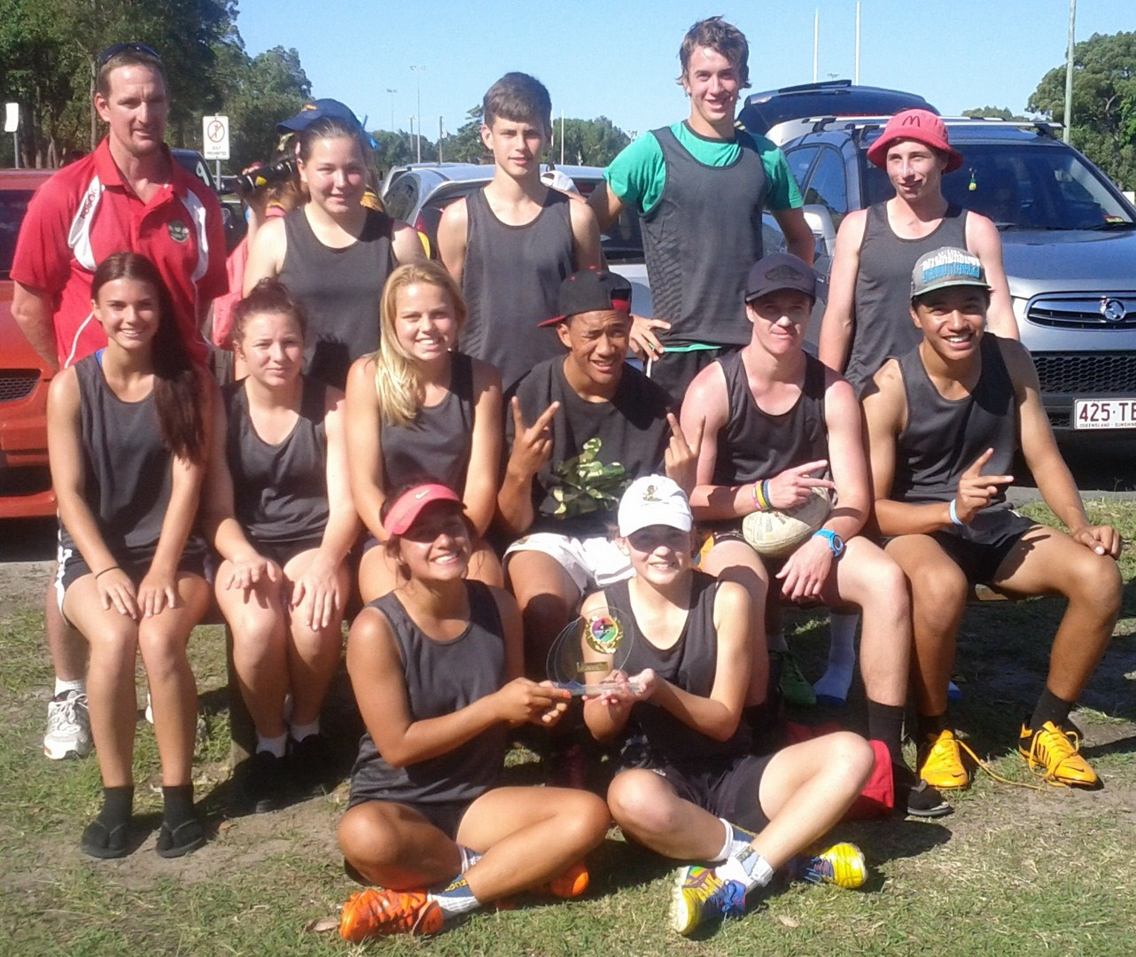 Caboolture SHS Open Mixed Takes Out Bribie Invitational.